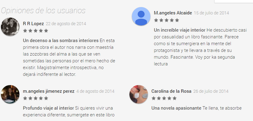 Comentarios Google Play