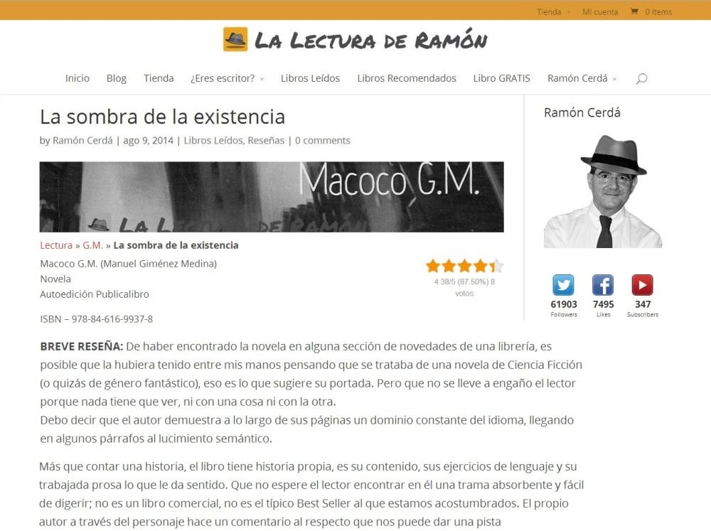 Reseña Ramon Cerda