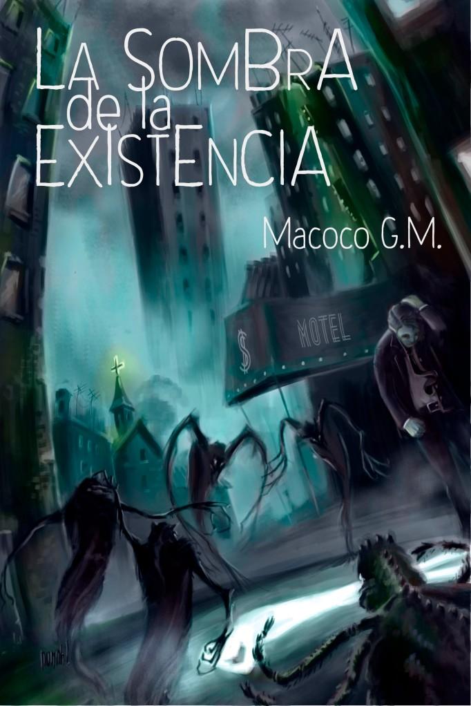 """Portada final """"La sombra de la existencia"""""""